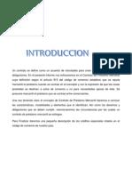 Contrato de Prestamos Mercantiles Honduras