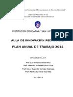 Plan Anual Aip 2014 Slg (1)