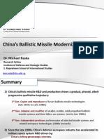 China Ballistic Missiles M Raska