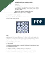 Otra Clase de Ajedrez Sencillo de Magnus Carlsen
