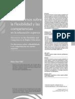 Los discursos sobre la flexibilidad y las competencias en la ES. Mario Díaz.pdf