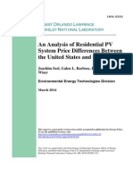 Analysis of Residential Pv System Price Differences US Germany MostIMportant