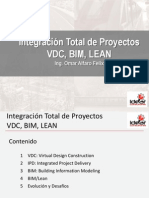 Innovación en La Construcción Sesión 8(VDC, BIM, LEAN)
