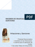 Gradualidad-Sanciones