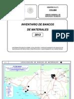 Colima Bancos 2013-1