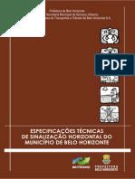 Especificacao Sinalizacao Horizontal 2013