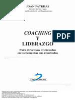 Coaching y Liderazgo Para Directivos Interesados in Incrementar Sus Resultados Portada