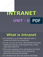 What is Intranet