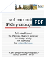 Remote Sensing and GNSS in precision agriculture