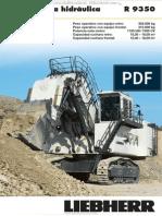 Catalogo Pala Excavadora Hidraulica r9350 Liebherr