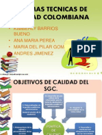 Normas Tecnicas de Calidad Colombiana (1)
