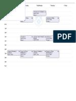 Schedule Fall 2012