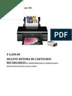 Impresora Stylus Photo T50