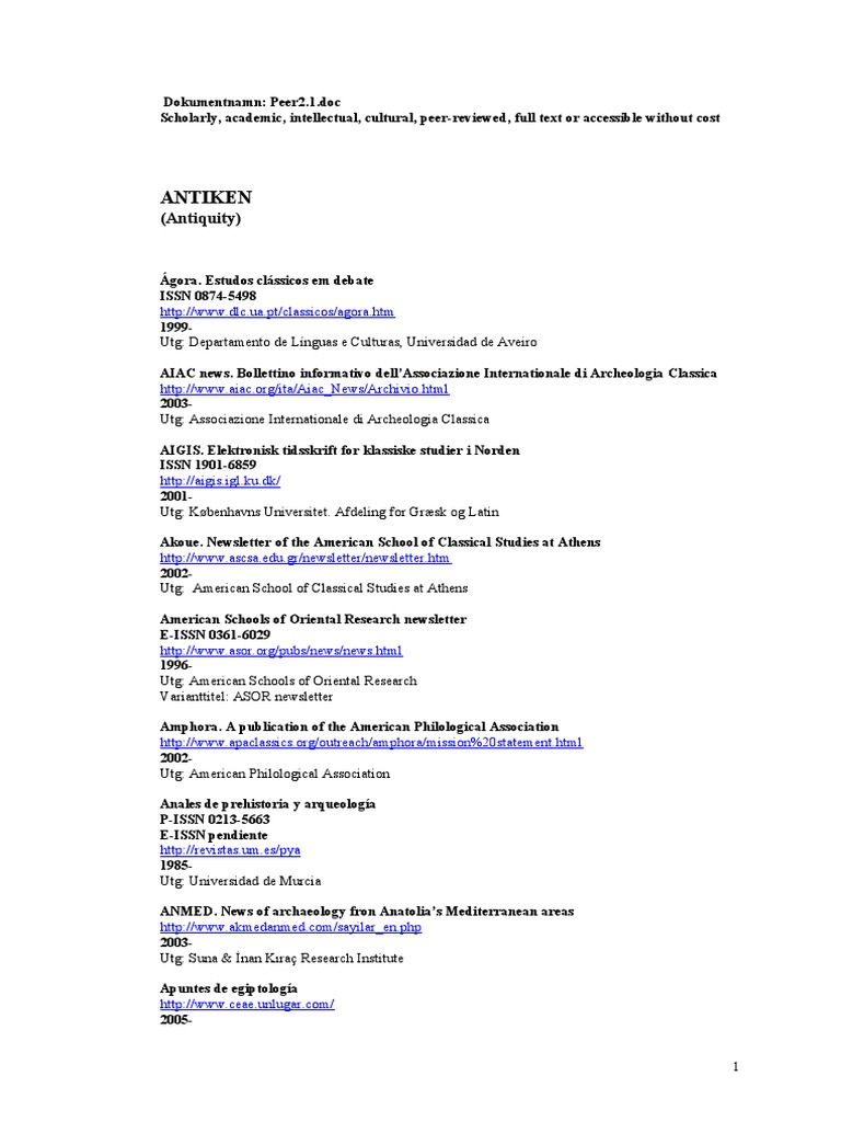 8 999 Open Access Journals New Expanded List December 2009