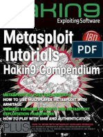 Hakin9 EXPLOITING_SOFTWARE TBO (01_2013) - Metasploit Tutorials.pdf