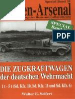 Waffen Arsenal - Special Band 39 - Die Zugkraftwagen der deutschen Wehrmacht 1t - 5t