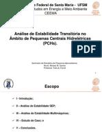 Análise de Estabilidade PCHs