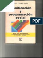 Pichardo Muñiz (1997) Planificación y Progr Amación Social, Cap. IV, V y VI (1)