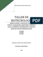 Taller de Biotecnologia