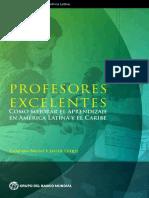 WB (2014) Profesores Excelentes. Foro Sobre Desarrollo de América Latina