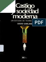 Castigo Y Sociedad Moderna