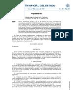 STC 20-2012. Constitucionalidad de Las Tasas Judiciales