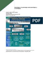 Aproximación Epistemológica a La Psicología Social Psicológica y La Psicología Social Sociológica