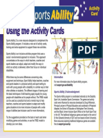 Sports Ability 2 Cards