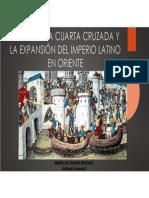 Unidad 6 La Cuarta Cruzada - María Alejandra Morales