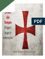 Unidad 6 Orden Del Temple - Daniel Esteban Montoya Muñoz