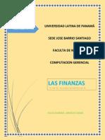 las finanzas word