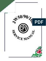 CPI ATV100 Service Manual