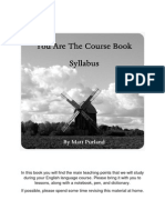 17 You Are the Course Book Syllabus FINAL