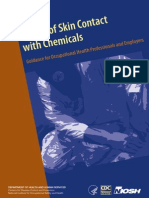 NIOSH Chemical Contact With Skin