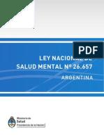 Ley Nacional Salud Mental 26.657resal