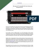 Manutenção Volkswagen W T5 Caravelle DVD Carro Sistema de Navegación GPS