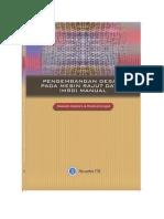 Pengembangan Desain Pada Mesin Rajut Datar (MRD) Manual