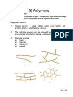 9) Polymers