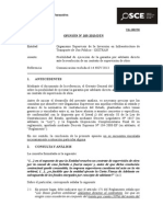 105-13 - OSITRAN - Ejecución de Garantía Por Adelantos en Contrato de Supervisión de Obra (1)
