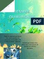Tiempos Quirurgicos Presentacion