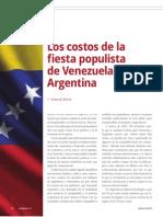Los costos de la fiesta populista de Venezuela y Argentina (La Nación 2391)
