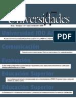 Comunicólogos y Comunicadores. Entre La Torre de Marfil y El Torrente Mediático. Revista UDUAL Sept - Dic 2010