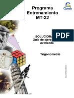 Solucionario Guía Avanzada Trigonometría 2013