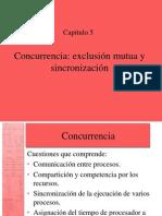 Cap05 Concurrencia - Exclusion Mutua y Sincronización