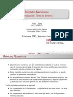 Metodos Numericos - Introduccion