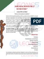 Recomendaciones y Comentarios 2_ Semestre MCPA Leones Por La Salud 2012B