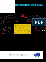 Volvo Driver Information Display Manual