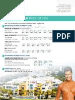 2 Miami Pricelist 2014_2