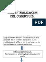 Concepto Curículum