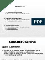 Exposicion Concretos